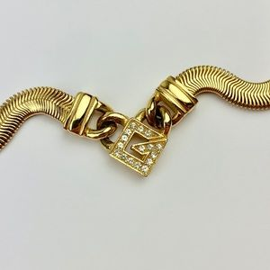 Rare Givenchy Gold Necklace